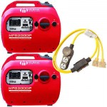 Milbank MPG2000IP2C - (2) 1800/3600 Watt Inverter Package w/ Parallel Cable Kit