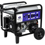 Subaru SGX7500E - 6700 Watt Electric Start Portable Generator