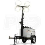 Generac MLT3060MV-STD2 - 6kW Towable Diesel Vertical Mast Light Tower w/ Mitsubishi Engine & Electric Winch