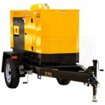 Winco RP25 - 20kW Industrial Towable Diesel Generator w/ Trailer