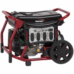 Powermate Wx Series - 8000 Watt Electric Start Portable Generator