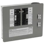 Generac 6380 - 50-Amp (12-Circuit) Indoor Manual Transfer Switch