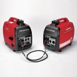 Honda EU1000 Inverter Generators (2) and Parallel Cable Kit