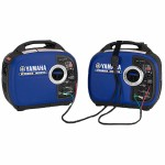 Yamaha EF2000iSv2 (2) Inverter Package with Sidewinder 30-Amp RV Parallel Cable