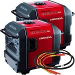 Honda EU3000 Inverter Generators (2) and Parallel Cable Kit