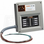 Generac 6854 - 30-Amp HomeLink™ Upgradeable Pre-Wired Manual Transfer Switch System (Alum.)