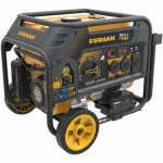 Firman H03651 - Hybird Series 3650 Watt Electric Start Dual Fuel Portable Generator w/ RV Plug