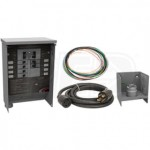 Milbank MMTS301SYSX1C - 30-Amp (6-Circuit) Power Transfer Switch System w/ Inlet Box & 10' Cord