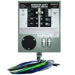 Generac 6376 - 30-Amp Prewired Indoor Manual Transfer Switch (6-10 Circuits)