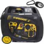 Firman W03083 - Whisper Series 3000 Watt Electric Start Inverter Generator w/ RV Plug & Wireless Remote